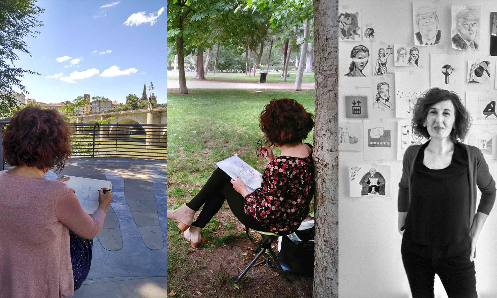 La Profesora de Dibujo Urbano